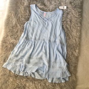 Justice Sleeveless Top NWT
